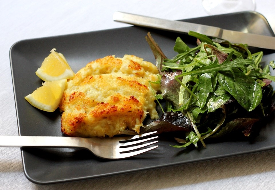 Salt Cod and Potato Gratin